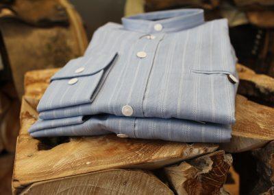 Blau Trachtenhemd bei Huber Mode & Tracht