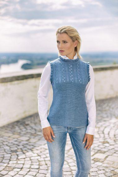 Schöner Pullunder in leichter Qualität bei Huber Mode & Tracht
