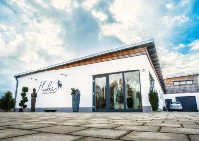 Das Geschäftshaus Huber Mode & Tracht in Bogen